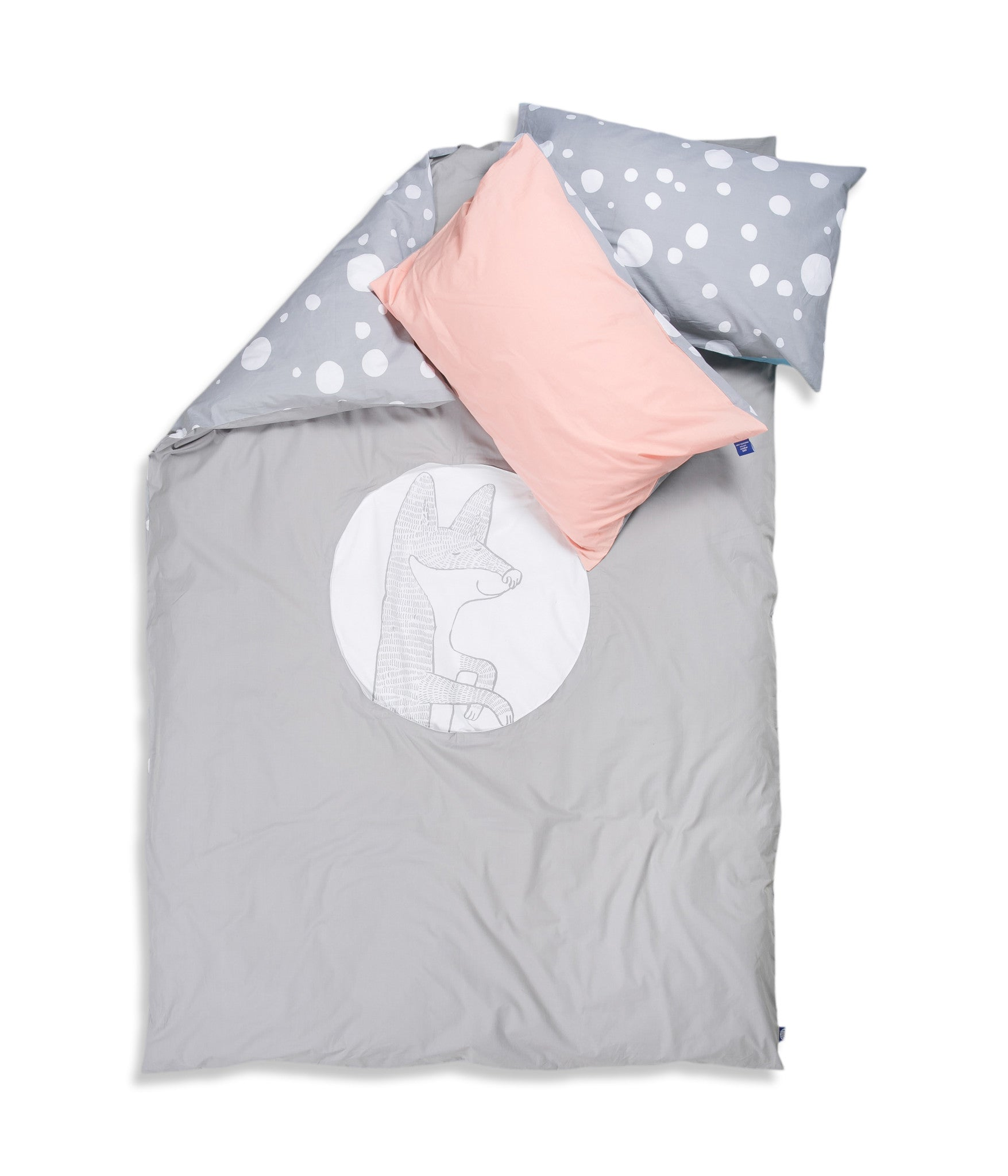 Organic cotton customised single bed set