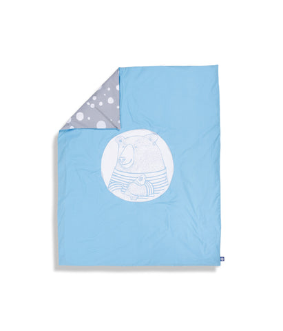 Organic cotton moses basket fitted sheet (set of 2)