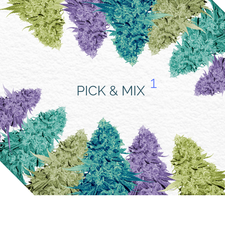 PICK AND MIX 1 - Semillas de marihuana a elección