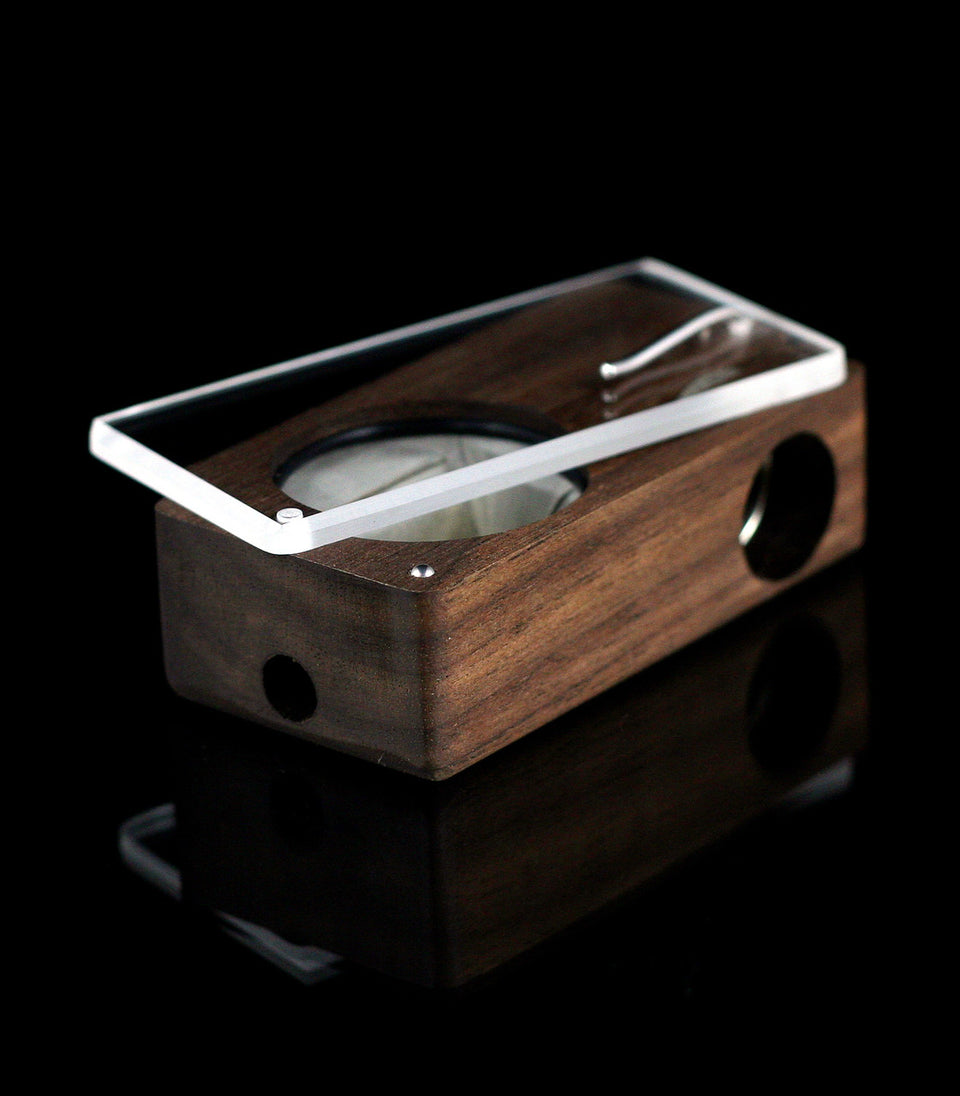 Venta de VAPORIZADOR LAUNCH BOX WALNUT magic flight para marihuana