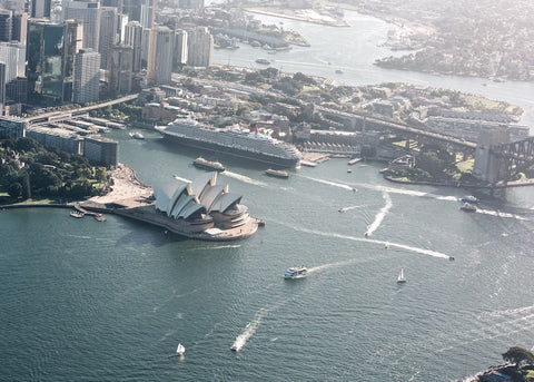 Sydney Harbour Aerial Series - Two