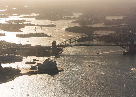 Sydney Harbour Aerial Series - Four