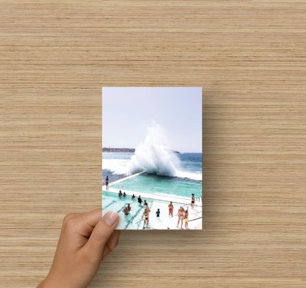 Flat Blank Card - Splash