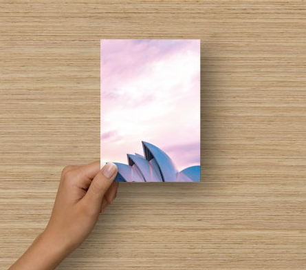 Flat Blank Card - Sydney Harbour(one)