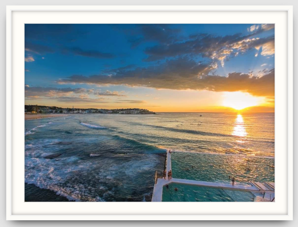 Winters Morning Bondi - One