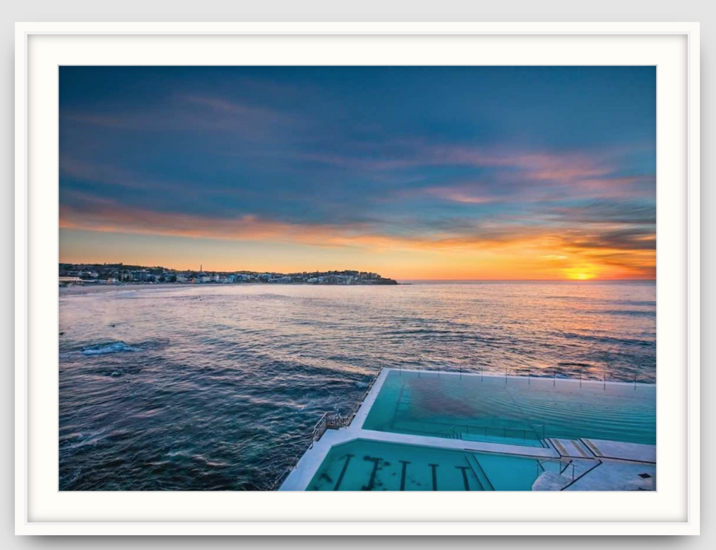 Winters Morning Bondi - Two