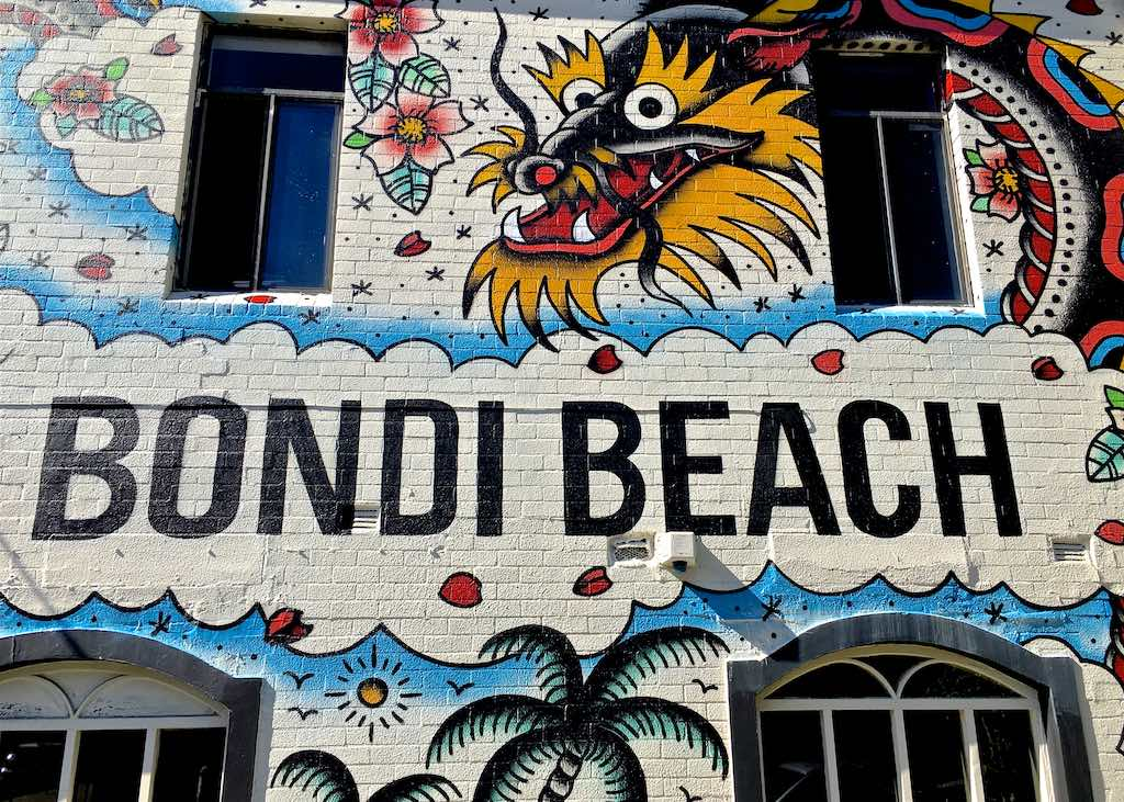 Bondi Graffiti - Four