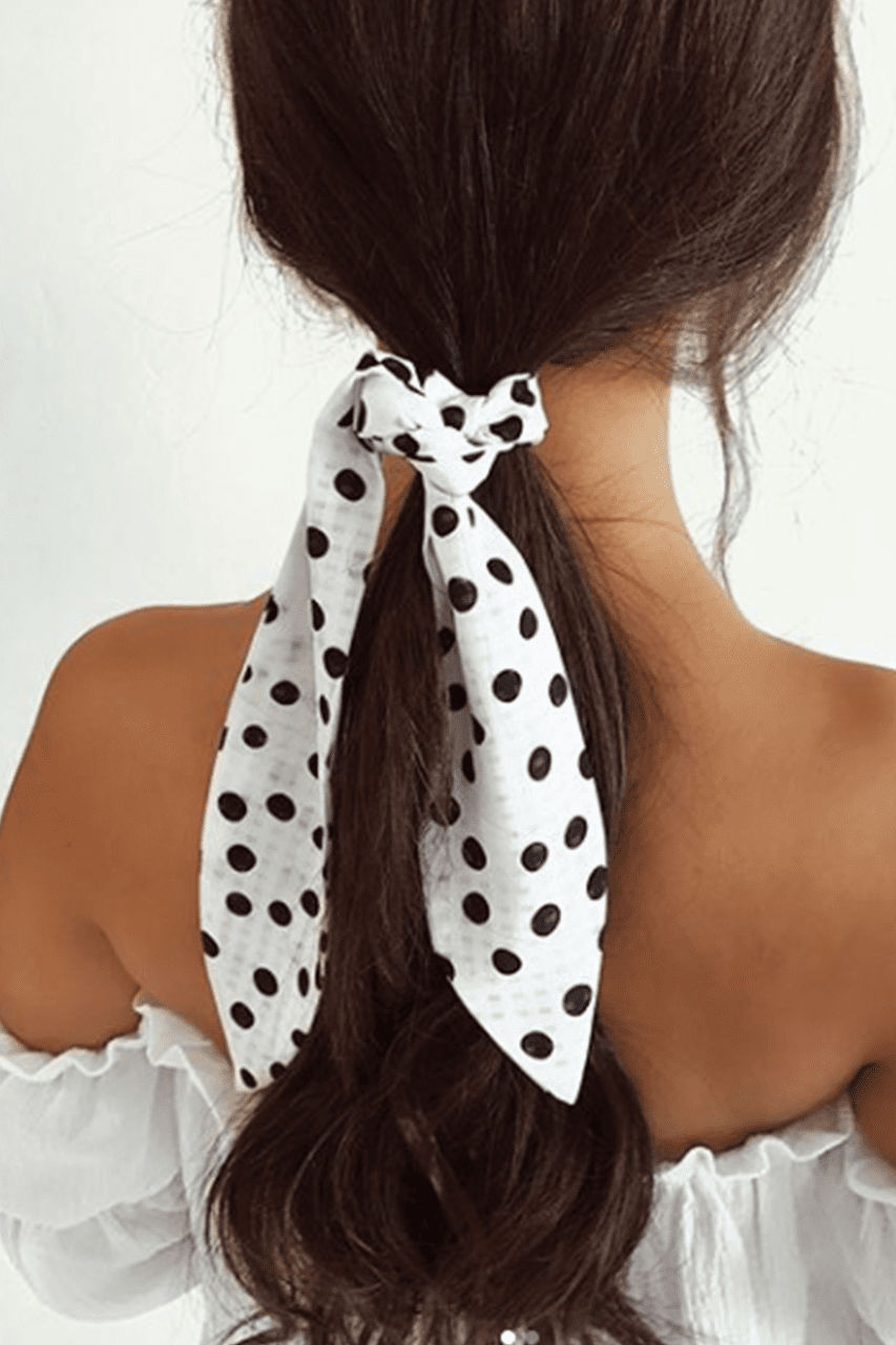 Spot on scarf - Three Nines Boutique