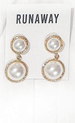 Pearls Of Wisdom Earrings