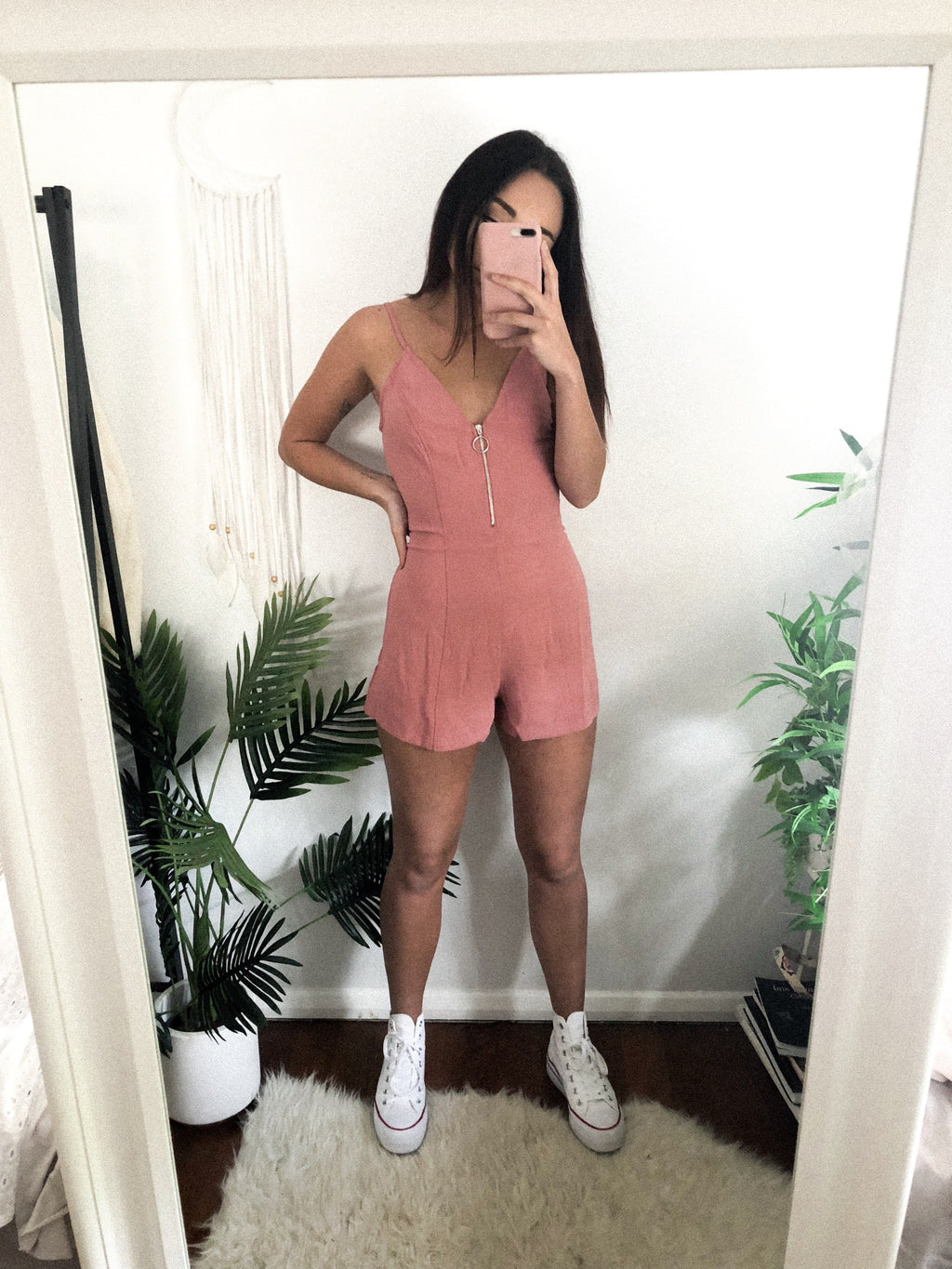 Ashlee playsuit - Three Nines Boutique