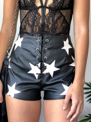 Seeing stars shorts - Three Nines Boutique