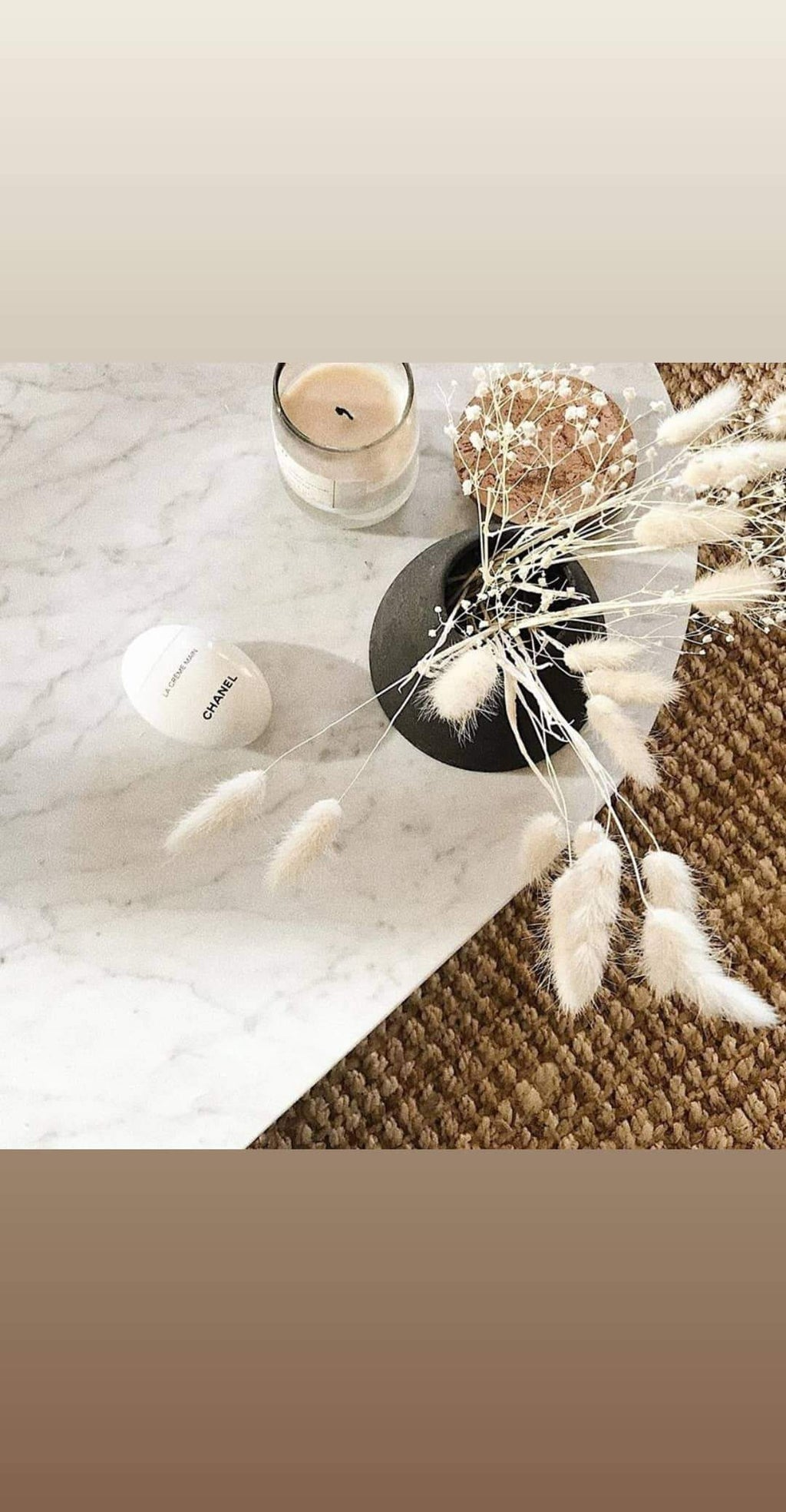 Bunny tails White. Natural, dried, - Three Nines Boutique