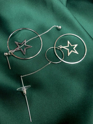 Star girl earrings - Three Nines Boutique