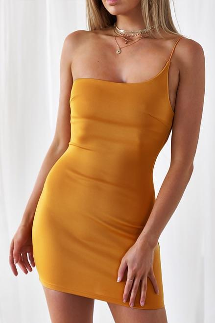 Nova Dress - Yellow - Three Nines Boutique