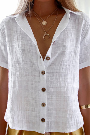La Concha Shirt White - Three Nines Boutique