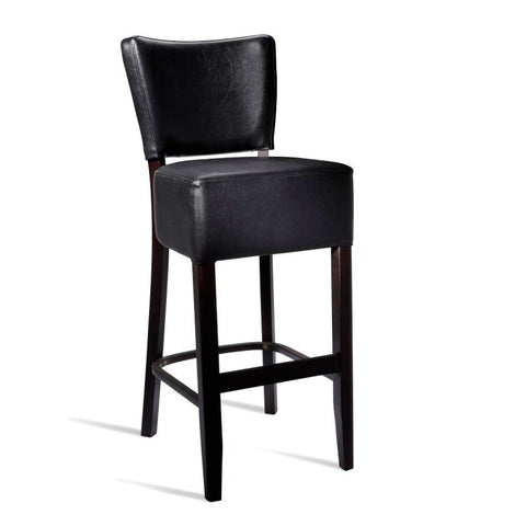 upholstered bar stool