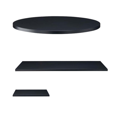 25 MM PREMIUM LAMINATE BLACK TOPS