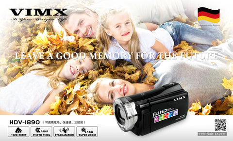 VIMX HDV-1890 DIGITAL VIDEO CAMERA