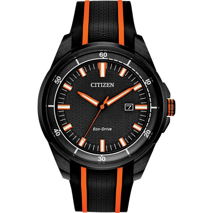 Montre-Homme-Citizen-Gents-Eco-Drive-Strap-WR100-AW1608-01E