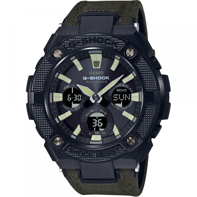 Montre-Chronographe-Homme-Casio-G-Shock-G-Steel-Military-Street-GST-W130BC-1A3ER