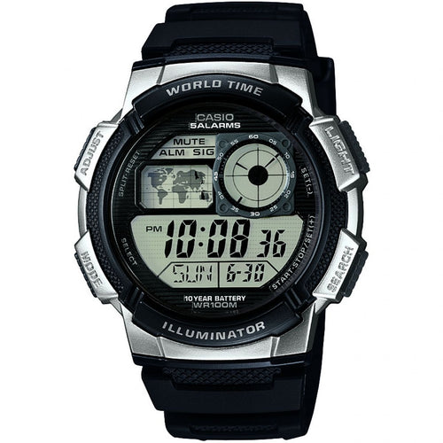 Montre-Chronographe-Homme-Casio-World-Time-AE-1000W-1A2VEF
