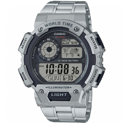 Montre-Chronographe-Homme-Casio-Classic-World-Time-AE-1400WHD-1AVEF