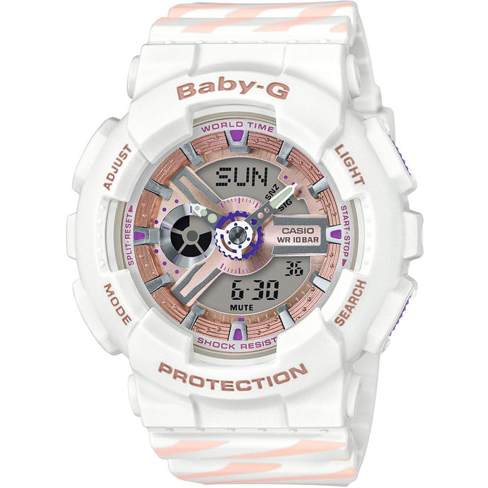 Montre-Chronographe-Femme-Casio-Baby-G-Chance-BA-110CH-7AER