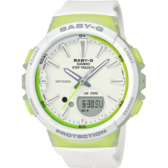 Montre-Chronographe-Femme-Casio-Baby-G-Step-Counter-BGS-100-7A2ER