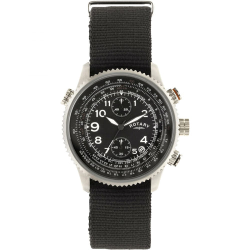 Montre-Chronographe-Homme-Rotary-Pilot-GS00284/04