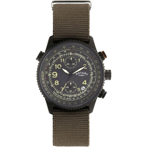 Montre-Chronographe-Homme-Rotary-Pilot-GS00285/04