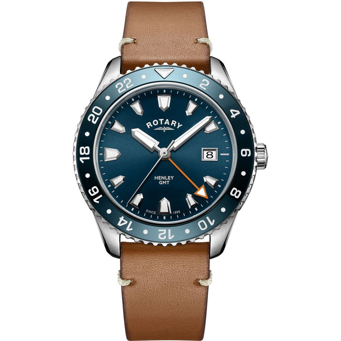 Montre-Homme-Rotary-Henley-GMT-GS05108/05