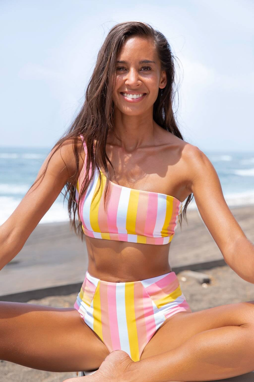 LAYA bikini | Barrel Top Candy Stripes