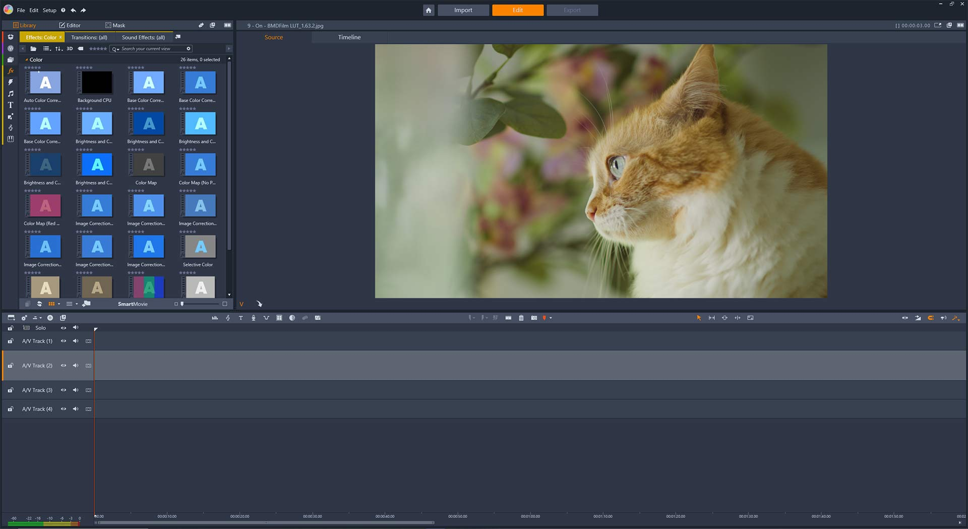 How to Use LUTs in Pinnacle Studio