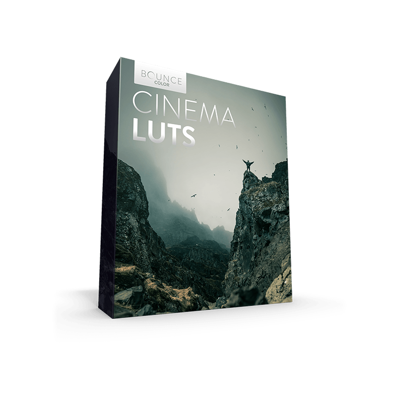 Cinematic Film LUTs