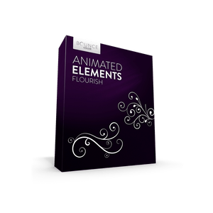 flourish flower animations for weddings product