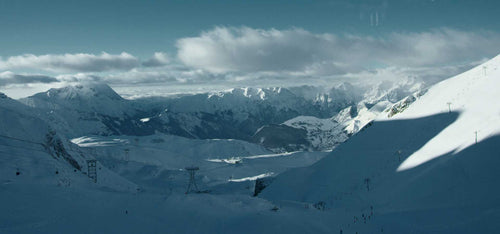 cinematic snowy mountain luts