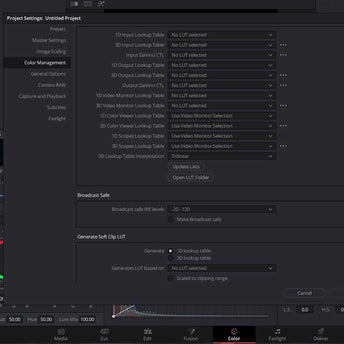 install luts davinci resolve