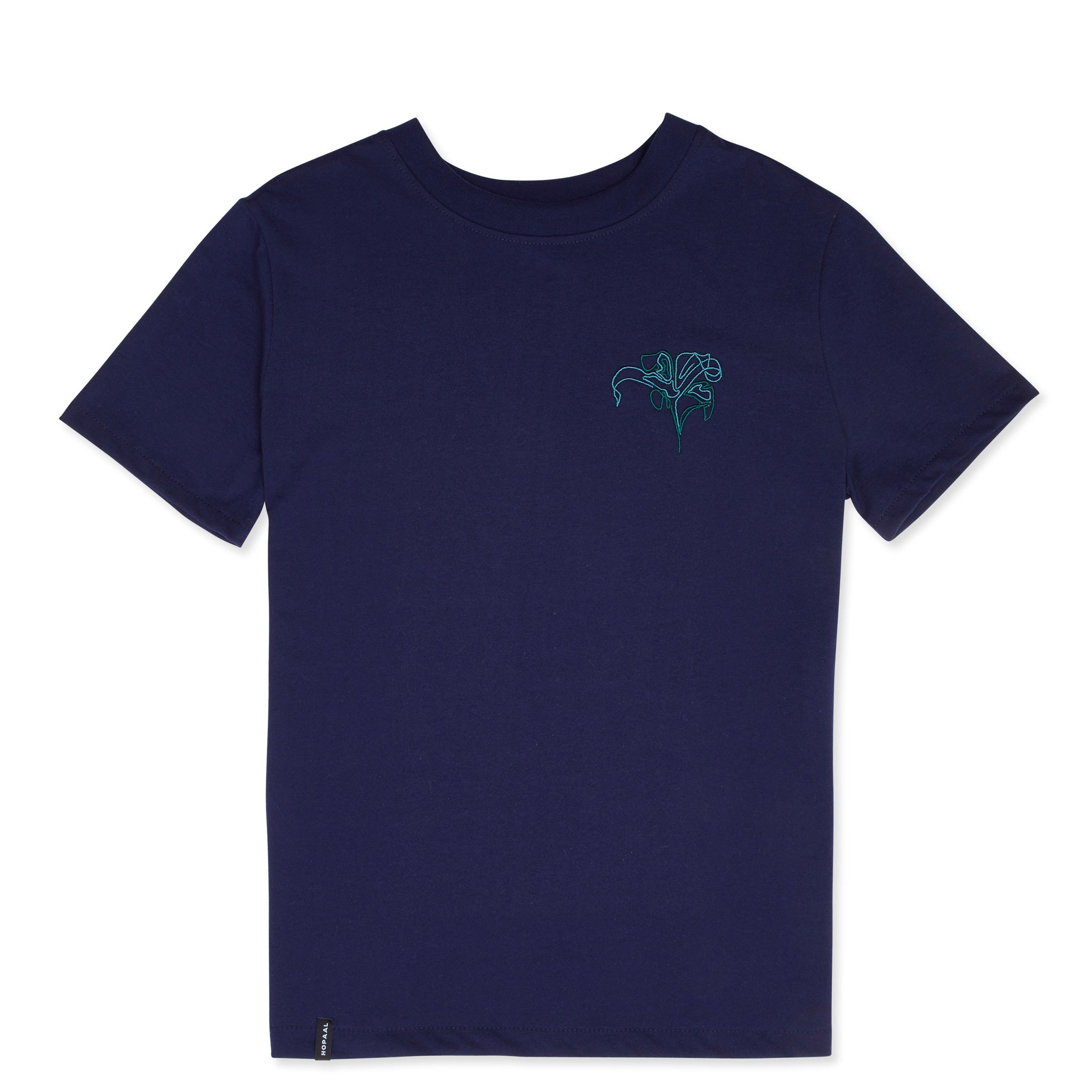 Hopaal - T-shirt recyclé - pure navy