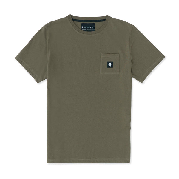 Pocket Kaki - T-shirt Homme