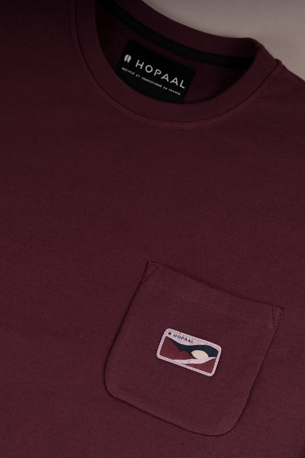 Pocket Bordeaux - Sweat Homme