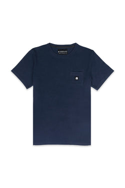 Pocket Bleu marine - T-Shirt Homme