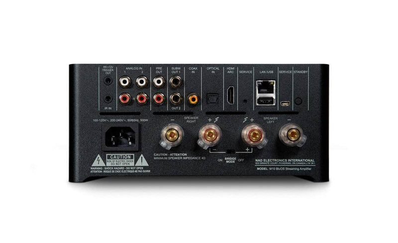 NAD allinone Highend Set: NAD M10 mi Guru Q10