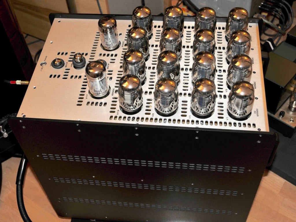 audio research Amplifier Audio Research 610T Monoblocks Private sale, top condition with EAT tube assembly