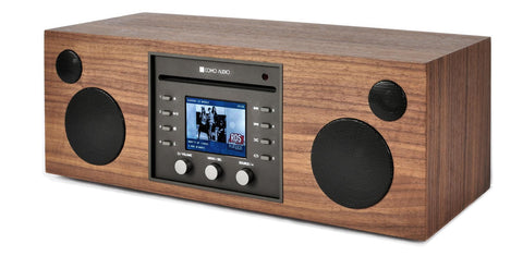 Como Audio Loudspeaker Walnut Como Audio Musica with CD