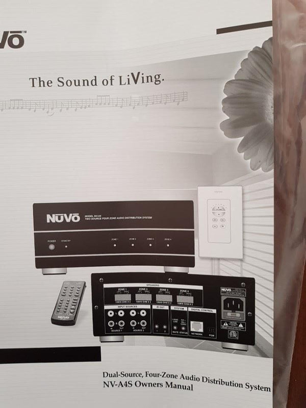 Nuvo MULTIROOM Nuvo NV-A4 Multiroomset completo