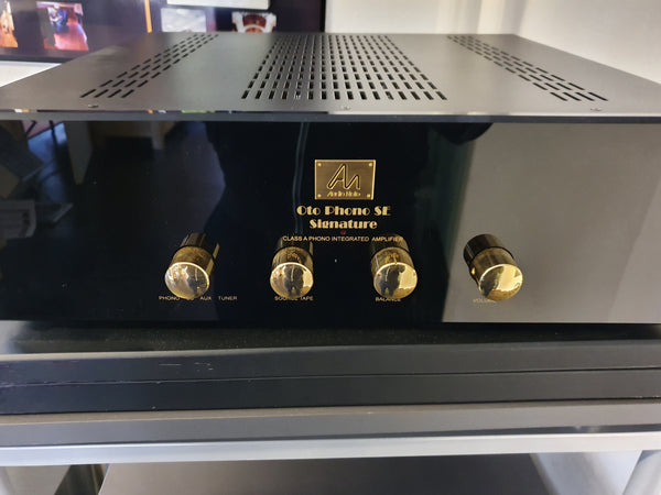 note audio Préampli phono Audionote Oto Phono SE Signature