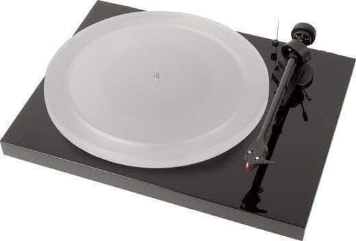 Pro-ject Audio turntable black Pro-ject Debut Carbon ESPRIT with Ortofon 2m red