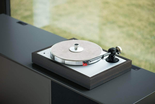 Pro-ject audio turntable PRO-JECT THE CLASSIC EVO SET with Quintet Red eucalptus