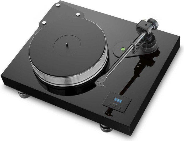 Pro-ject audio turntable black gloss lacquer Pro-Ject Xtension 12 complete