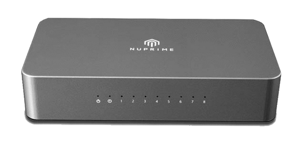 Nuprime Switch Nuprime Omnia SW-8 High-End Audio Switch